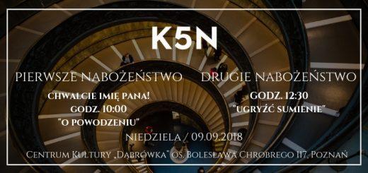 k5n nabożeństo 9.09 2018
