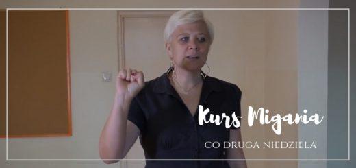 Informacja o rozpoczęciu kursu języka migowego w Poznaniu, kościół 5N.