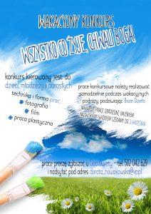 Plakat - konkurs plastyczny K5N