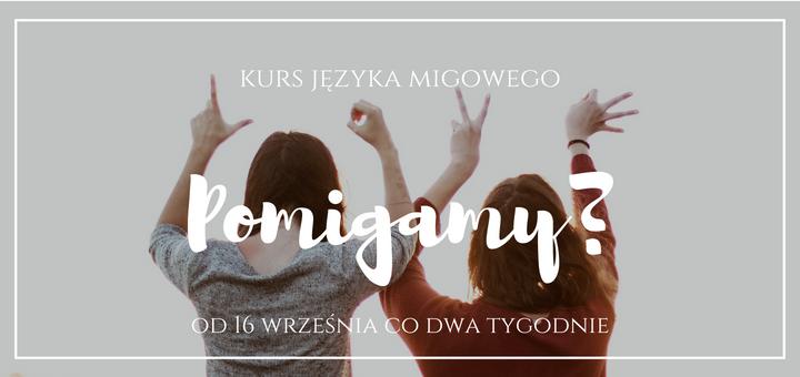 Informacje o kursie języka migowego w Kościele K5N w Poznaniu