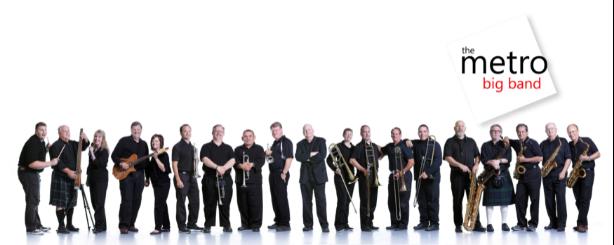 Zespół Metro Big Band - wszyscy członkowie, występ w kościele k5n w Poznaniu