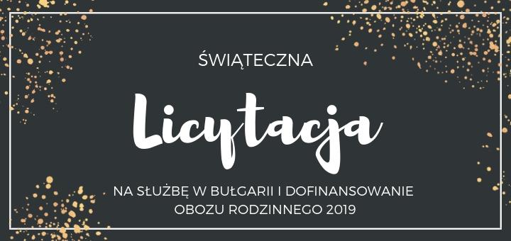 informacje na temat swiatecznej charytatywnej licytacji kościoła 5n w poznaniu 16 grudnia 2018