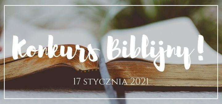 wielki konkurs biblijny w k5n 2021